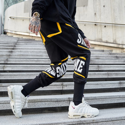 """Smoking Time V2"" Jogger Pants - DISXENT STREETWEAR"