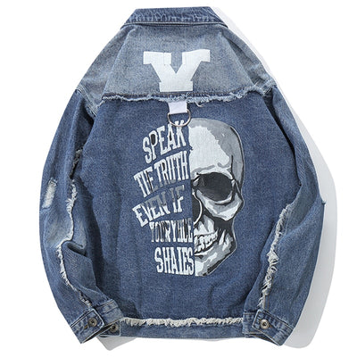 """Y"" Denim Jacket - DISXENT STREETWEAR"