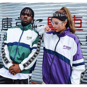 """Refusion"" Windbreaker Jacket - DISXENT"