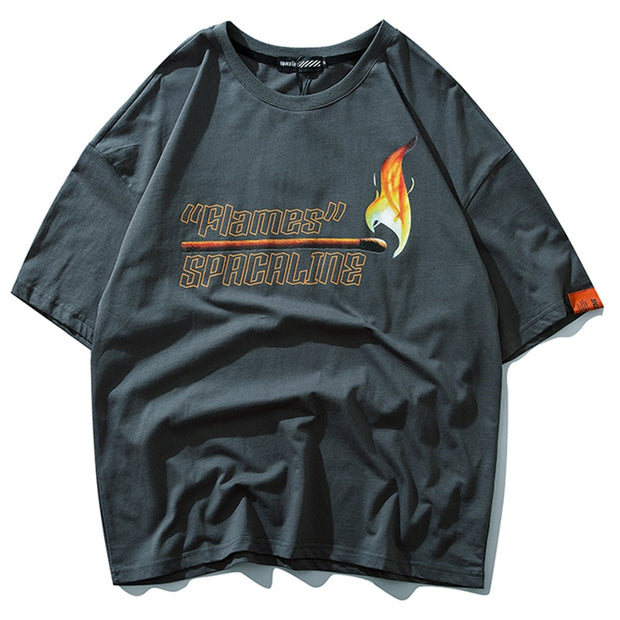 Flames - T-Shirt - DISXENT