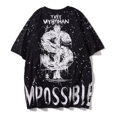 """Impossible Money"" T-Shirt - DISXENT"