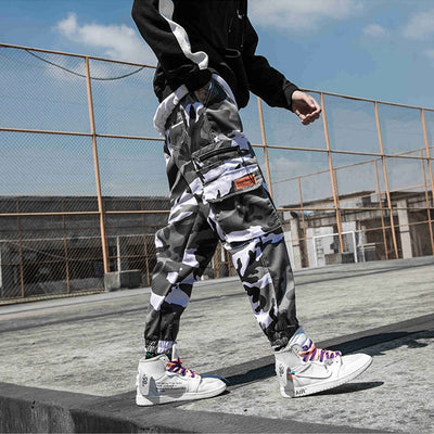 Tactical - Camouflage Joggers - DISXENT