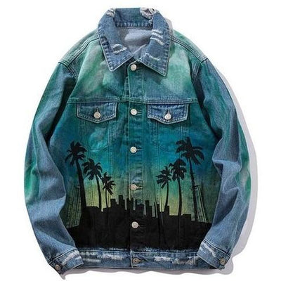 Lets Rock - Denim Jacket - DISXENT