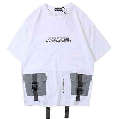 Zero Fighter - Reflective T-Shirt - DISXENT