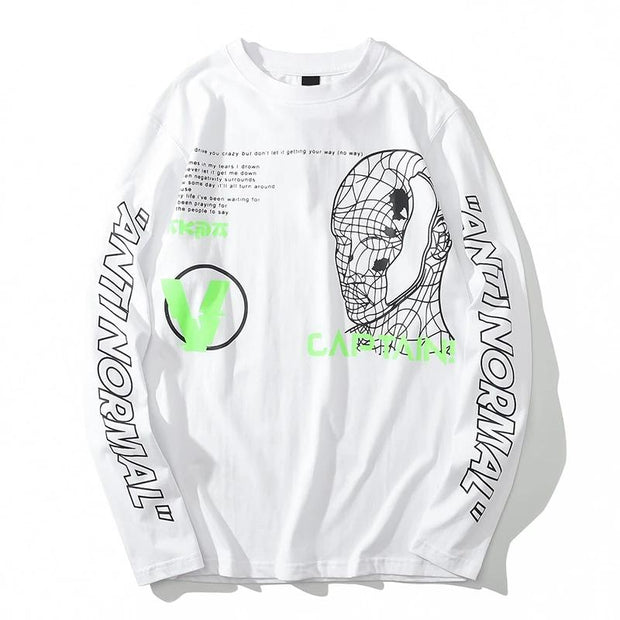 Anti Normal - Long Sleeve T-Shirt - DISXENT