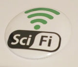 Green Sci-Fi Button