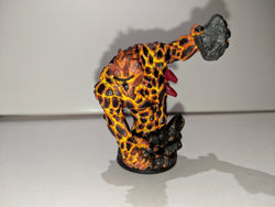 Painted Earth Elemental (Lava)  Miniature