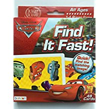 Find it Fast! Disney Cars.