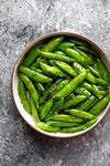 Skillet Snap Peas with Sesame