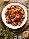 Sorghum Roasted Sweet Potatoes