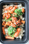 Sesame Chicken & Veggie Meal Prep
