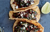 Kale and Black Bean Tacos