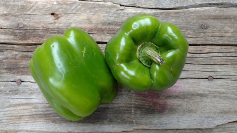Organic Green Peppers (/lb)