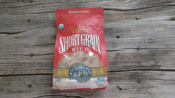 Lundberg Brown Short Grain Rice (1lb)