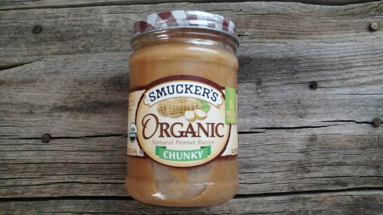 Smucker's Organic Peanut Butter Chunky (16oz)