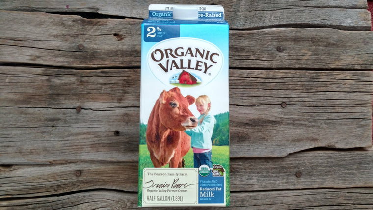 Organic Valley Milk 2% (1/2 Gal)