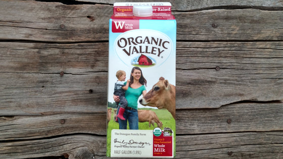 Organic Valley Milk Whole (1/2 Gal)