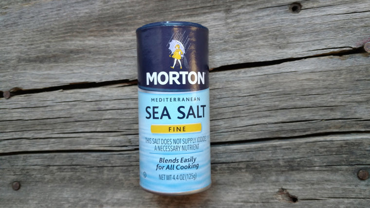 Morton's Sea Salt (/4.4oz)