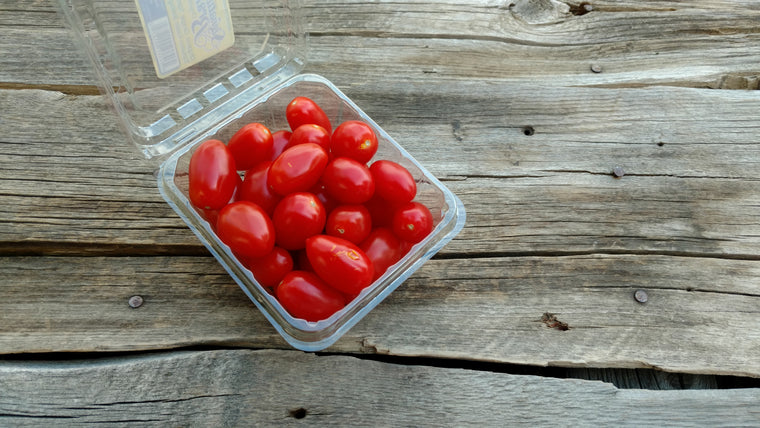 Organic Grape Tomatoes (/pint)
