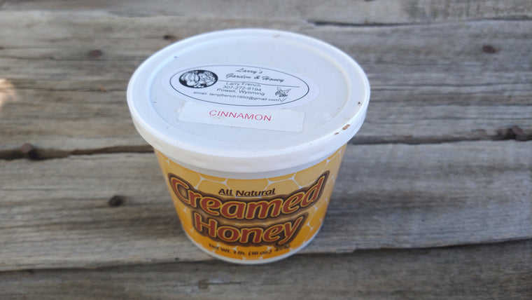 Larry's Honey: Creamed Cinnamon (/16oz)