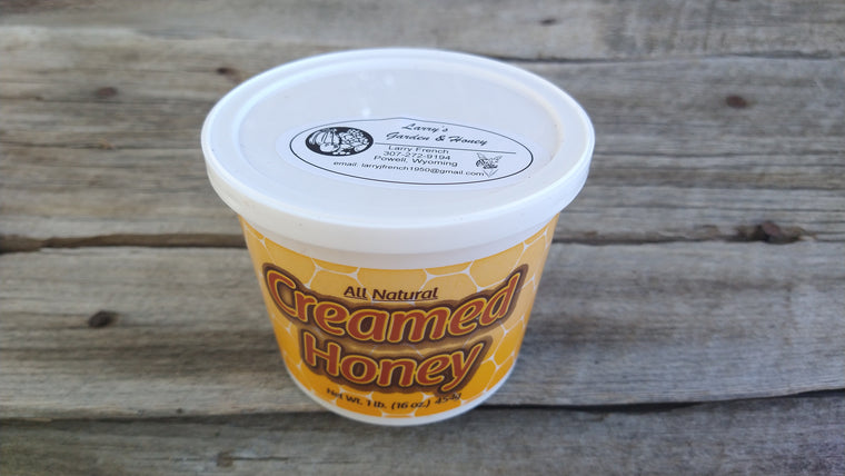 Larry's Honey: Creamed (/16oz)