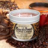 Large Handmade Coffee Soy Candle