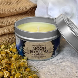 Moon Blossom Essential Oil Soy Candle 3 oz