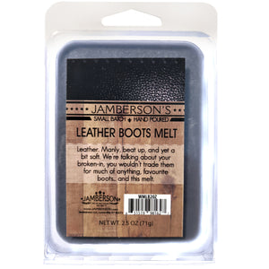 Leather Boot Wax Melt