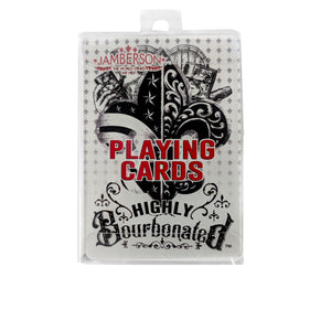 Highly Bourbonated Playing Cards