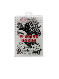 Highly Bourbonated Playing Cards in box.