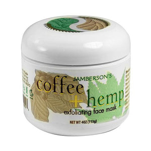 Coffee & Hemp Face Mask
