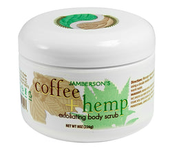 Coffee and Hemp Exfoliating Body Scrub