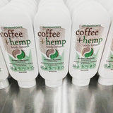 Coffee and Hemp Non-greasy Natural Lotion
