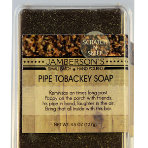 Pipe Tobacco Soap