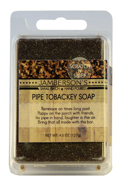 Pipe tobacco soap.
