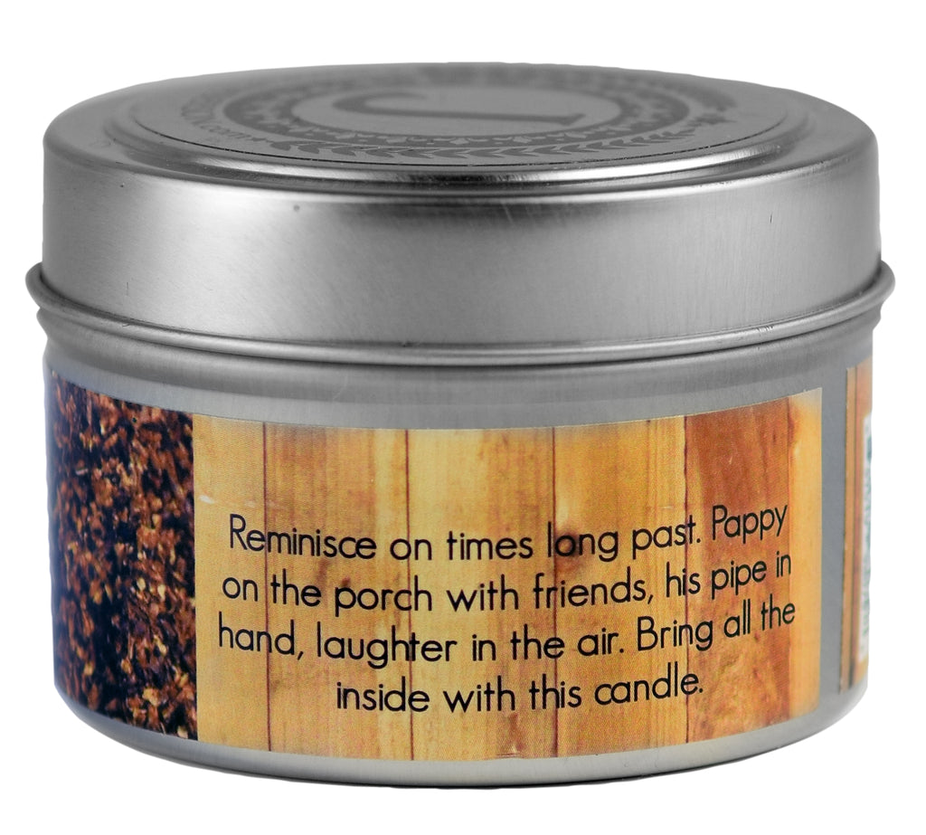 Pipe Tobacco Soy Candle 3 oz - Jamberson