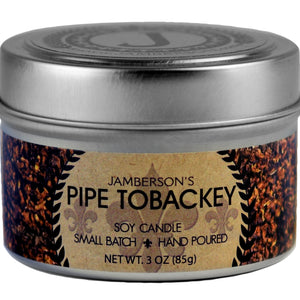 Pipe Tobacco Soy Candle 3 oz