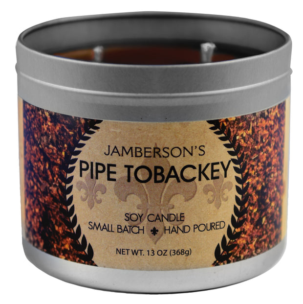 Pipe Tobacco Soy Candle 13 oz 1