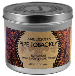 Pipe Tobacco Soy Candle. Smells like grandpa's old pipe.