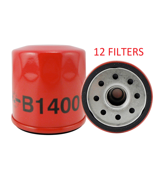 (CASE OF 12) B1400 BALDWIN OIL FILTER LF3925 a066