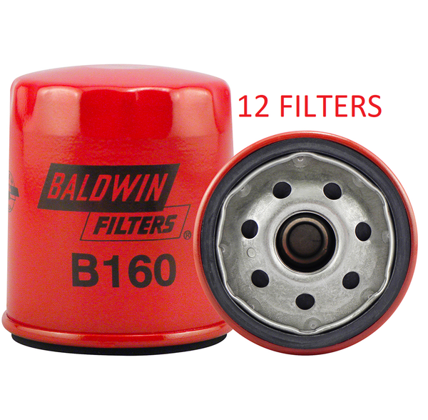 (CASE OF 12) B160 BALDWIN OIL FILTER LF16242 a215
