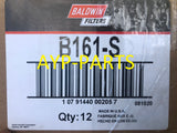 (CASE OF 12) B161-S BALDWIN OIL FILTER LF3536 LF3812 Isuzu Yanmar Kubota Mitsubishi Engines a045