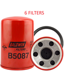 (6 PACK) B5087 BALDWIN COOLANT FILTER WF2127 a069