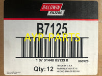 (CASE OF 12) B7125 BALDWIN OIL FILTER LF3703 John Deere 7400 7410 7600 7610 a015