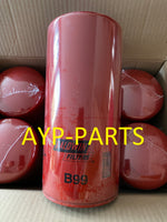 (CASE OF 6) B99 BALDWIN OIL FILTER LF691A Caterpillar Demag a374
