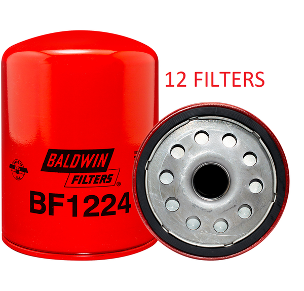 (CASE OF 12) BF1224 BALDWIN FUEL FILTER FF5301 a028