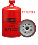(CASE OF 12) BF1226 BALDWIN FUEL FILTER FS1251 for Cummins Deutz IHC a148