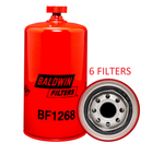 (6 PACK) BF1268 BALDWIN FUEL FILTER FS19683 a060