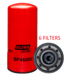 (CASE OF 6) BF46002 BALDWIN FUEL FILTER FF5782NN for Cummins QSK MCRS Engines a056