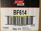 (CASE OF 12) BF614 BALDWIN FUEL FILTER FF5264 Caterpillar Engines a125